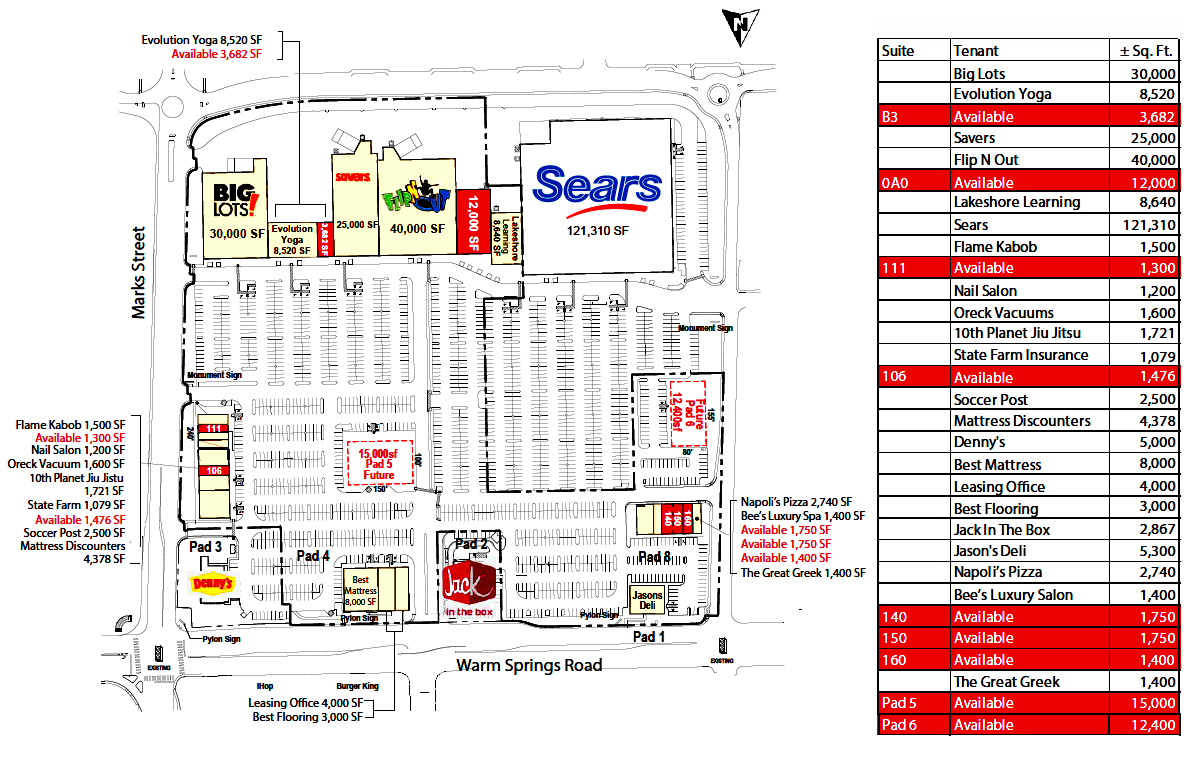 Retail Space For Lease - Henderson, Nevada